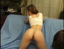 dépucelage anal d'une jeune amatrice française un peu timide