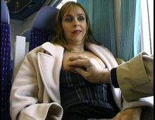 rencontre sexe dans le train avec un vieux voyeur