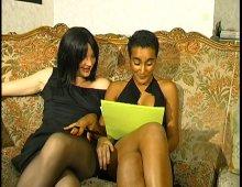 Casting d'une jeune antillaise bisexuelle