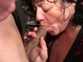 Un couple amateur passe un casting en direct