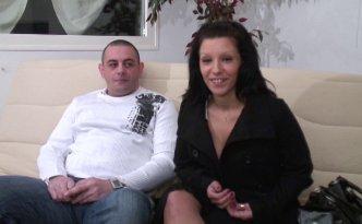 Annabelle et Bruno de Caen, couple amateur de baise en tout genre, ont fait appel à nous afin de s'immiscer dans leur vie intime