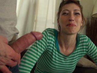 Sodomie douloureuse d'une amatrice aux petits seins