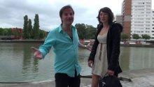 Gabriella, charmante provinciale fait un essai à chaud à Paris!