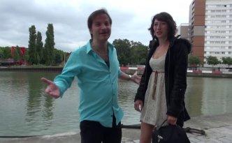 C'est en plein Paris que la belle Gabriella est venue nous accoster