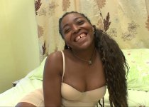 Une blackette au cul de rêve pour un casting porno sexy