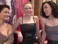 partie-fine avec trois gourgandines françaises bisexuelles