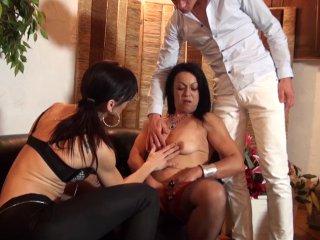 Madalyne et son premier casting porno amateur