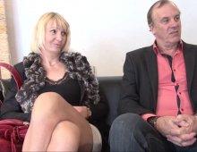 un vieux couple libertin de Normandie dans la maison du sexe
