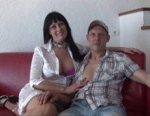 un couple belge amateur de triolisme et de double-péné