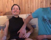 une partouzeuse parisienne rejoint notre équipe de gonzo amateur