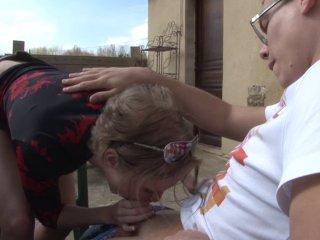 il se tape sa tante salope francaise de 50 ans
