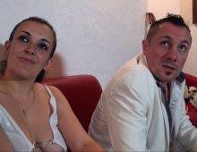 un couple libertin de Lyon tourne une scène de sexe