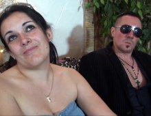 un couple candauliste de Lyon passe un casting porno