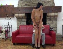 casting sexe d'une belle amatrice française aux petits seins