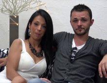 un couple trioliste amateur se dévoile dans un porno
