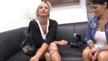 Imany, bonne coquine blonde du pays basque vient passer son casting!