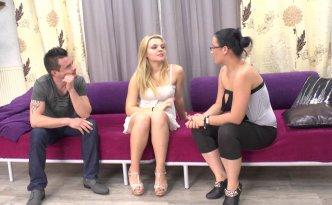 Candice reçoit une nouvelle actrice qui tombe littéralement du ciel