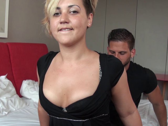 La Sextape ultra hard d'une femme blonde
