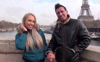 Quand deux pornstars se marient et viennent passer leur voyage de noces à Paris, devinez qui ils viennent voir pour leur filmer une bonne sextape