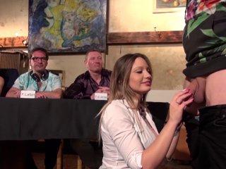 Un candidat de baise avec les pornstars se fait voler la vedette par pascal.