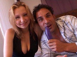 Casting porno d'une amatrice de cul à la chatte rose