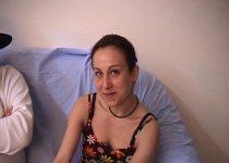 Amatrice Marseillaise dans un premier casting porno