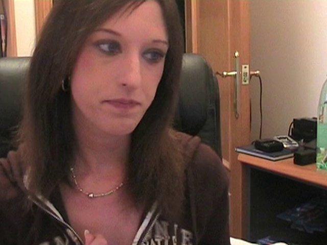 Baise en direct devant webcam