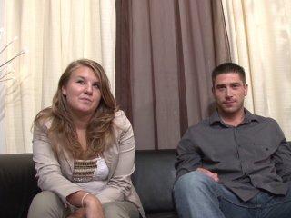 Plan privé d'un jeune couple amateur à domicile