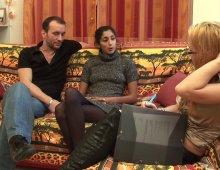 une jeune arabe sans tabou aimant la queue