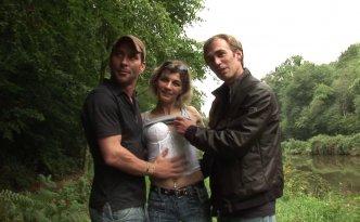 Nos dénicheurs de talents, Candice et William, ont bien failli se retrouver le bec dans l'eau