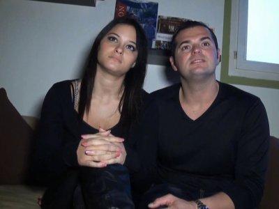 Max a rendez vous pour un casting � l'appart de Jessica, 22 ans, et Franck,28 an