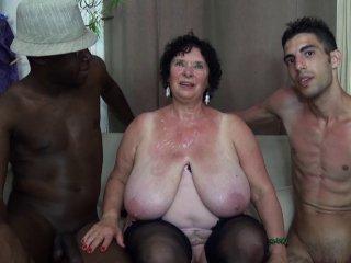 65 ans et bien en chair passe un casting porno amateur