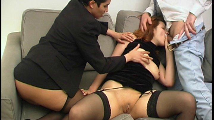 U porno trio