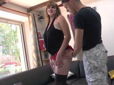 Rick est venu en compagnie de Charlotte pour faire une petite surprise à Vince!