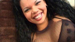 Casting d'une jolie brésilienne