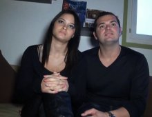 220x170 44 - Jeune couple amateur en mal de notoriété baise devant notre cam