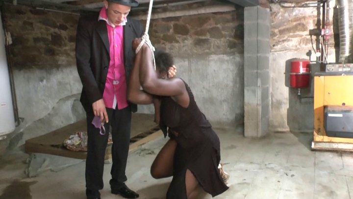 Black french bbw get sodomized